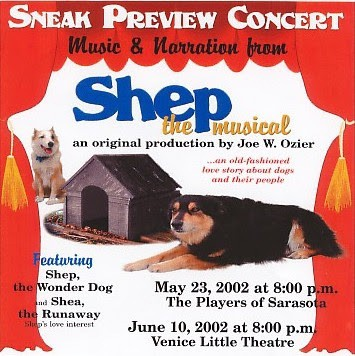 The Story Behind Shep The Musical