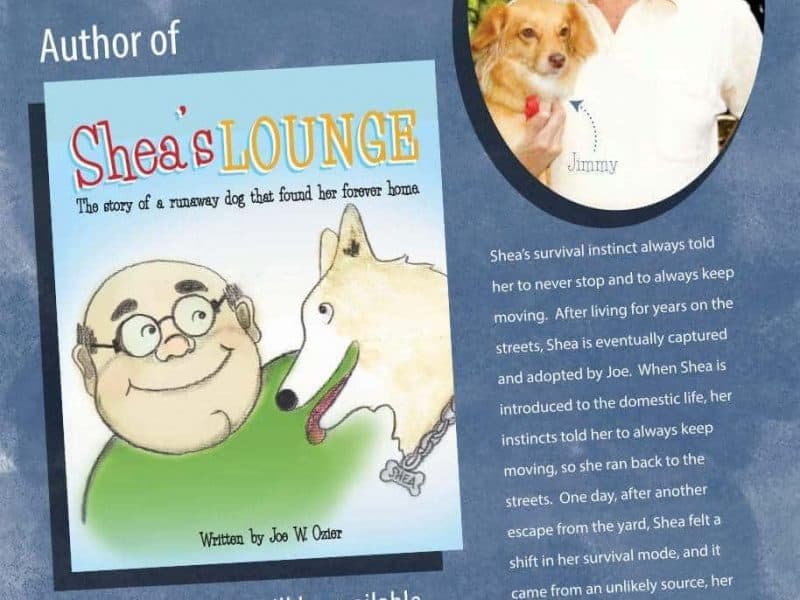 Meet The Author Of Shea's Lounge